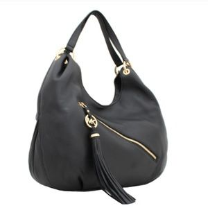 1be933534fcb MICHAEL Michael Kors Bags - Michael Kors Charm Tassel Large Shoulder Tote  Bag